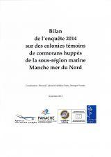 Bilan de l'enquête menée en 2014 sur des colonies témoins de cormoran huppé de la sous-région marine Manche Mer du Nord