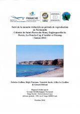 Suivi de la mouette tridactyle en période de reproduction en Normandie-saison 2014