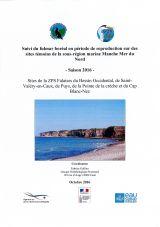Suivi du fulmar boréal en période de reproduction sur des sites témoins de la sous-région marine Manche Merdu Nord-saison 2016