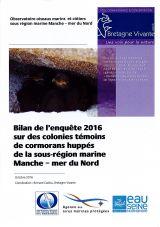 Bilan : Suivi 2016 sur des colonies témoins de Cormorans huppés de la sous-région marine Manche - Mer du Nord