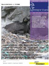Rapport : Utilisation des macrodéchets dans les nids de cormorans huppés comme indicateur DCSMM