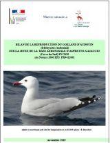 Bilan : Suivi 2019 de la reproduction du goeland d'audouin SUR LA JETEE DE LA BASE AERONAVALE D'ASPRETTO A AJACCIO (Corse du Sud)