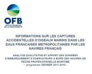 Bilan : Analyse qualitative et apport des données d'embarquement d'observateurs à bord des navires de pêche professionnelle maritime  - programme OBSMER 2017-2019
