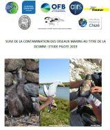 Rapport : Suivi de la contamination des oiseaux marins au titre de la DCSMM : Etude pilote 2019