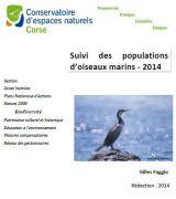 Bilan : Suivi des populations des Cormorans huppés - Corse - 2014