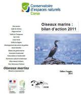 Bilan : Suivis des oiseaux marins - Corse - 2011