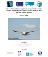 Bilan : Suivi 2017 de la reproduction du Fulmar boréal sur les colonies témoins des sous-régions marines Manche - Mer du Nord et Mer Celtique