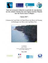 Bilan : Suivi 2017 de la reproduction de la Mouette tridactyle sur les colonies témoins des sous-régions marines Manche - Mer du Nord et Mer Celtique