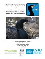 Bilan : Suivi 2017 de la reproduction du Grand Cormoran sur les colonies témoins des sous-régions marines Manche - mer du Nord