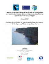 Bilan : Suivi 2018 de la reproduction de la Mouette tridactyle sur les colonies témoins des sous-régions marines Manche, Mer du Nord et Mer Celtique