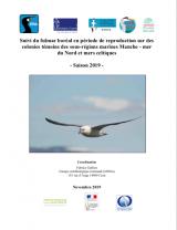 Bilan : Suivi 2019 de la reproduction du Fulmar boréal sur les colonies témoins des sous-régions marines Manche - Mer du Nord et Mer Celtique