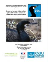Bilan : Suivi 2019 de la reproduction du Grand Cormoran sur les colonies témoins des sous-régions marines Manche - Mer du Nord