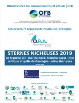Bilan : Suivi 2019 de la reproduction des sternes nicheuses dans les sous-régions marines Manche - Mer du Nord, Mer Celtique et Golfe de Gascogne